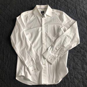 Men's Armani Exchange button up long sleeve shirt
